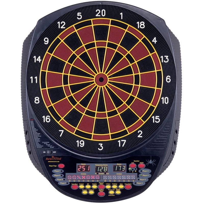 Arachnid Inter-Active 6000 Dartboard Tournament Series